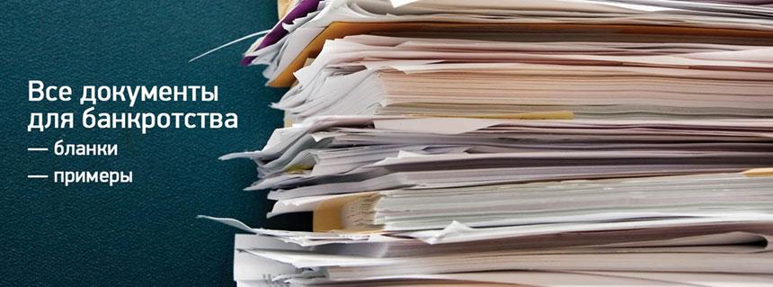 Документы для признания банкротства физических лиц - Закон и право
